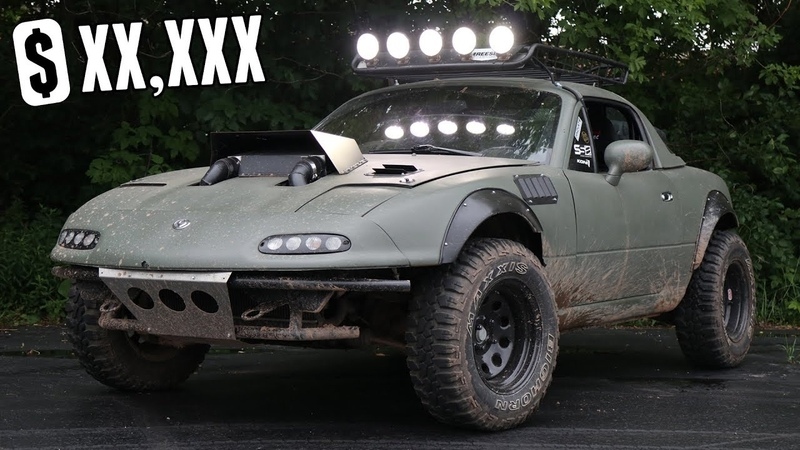 Supercharged Offroad Miata - How much did it cost