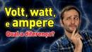 Qual a diferença entre volt, watt e ampere? ManualMaker Aula 2, Vídeo 1