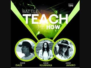 Teach Me How 2| All Styles Final | Kristya - TimoFeya