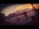 уличные музыканты санкт-петербург Дворцовая площадь Зимний дворец спб Питер