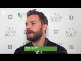 Джейми Дорнан/интервью в зеленой комнате в Twickenham