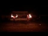 Огненное шоу в яхт-клубе