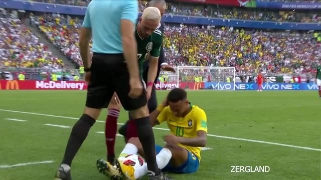 Обидели Нейма́ра (Lamentation of Neymar)