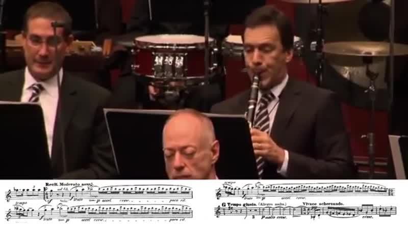 Шехерезада 2 часть. Римский -Корсаков. медно-духовые и соло кларнета