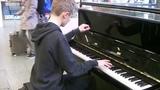 Turkish March (Alla Turca) - Sonata in A, Movement 3 (W. A. Mozart), St. Pancras International
