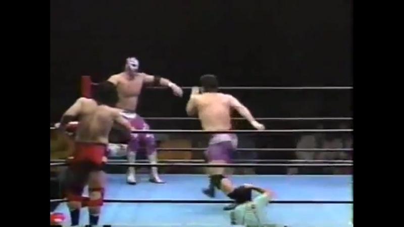 1996.01.24 - The Patriot/The Eagle vs. Jun Izumida/Tamon Honda [JIP]