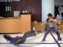 Thailand kids in real stunt work! Dangerous flips and Muay Thai movements. Making movie Power Kids