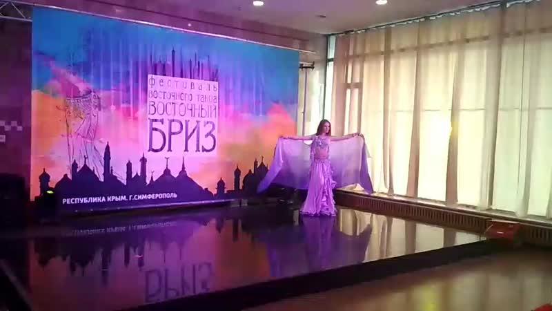 Маргарита Костюкова 1 место ориенталь Восточный Бриз 9 03 2019