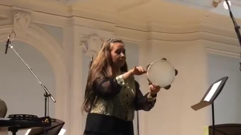 Габриэла Хименес. Соло для бубна. 25.07.2017, Рахманиновский зал