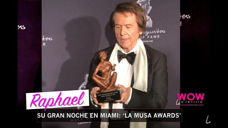 La Gran Noche de Raphael en La Musa Awards 2018   Sueños   Entrevista   Wow La Revista