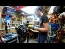 Капитальный ремонт ДВС Honda CB400 Диагностика Маслоприемной системы ч6