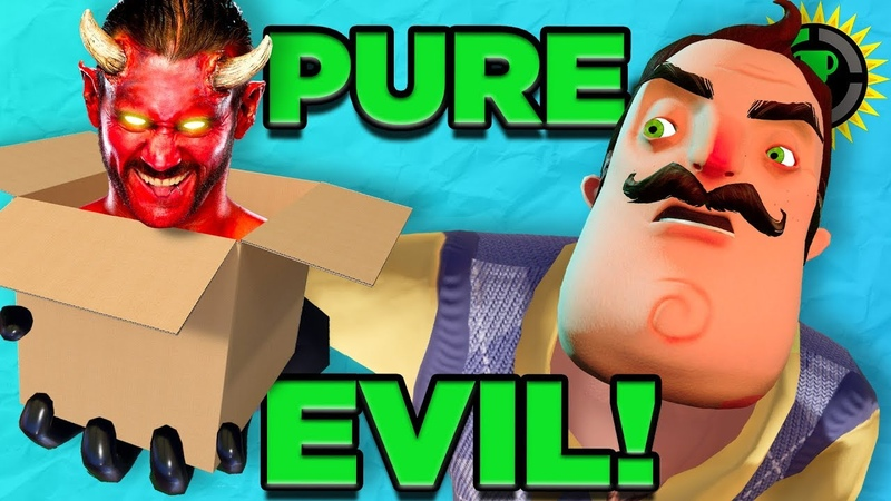 Game Theory: The SCARIEST Part of Hello Neighbor...the BOXES!