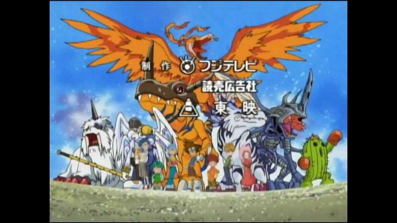 Digimon Abertura 1 - Heróis Digitais [HD]