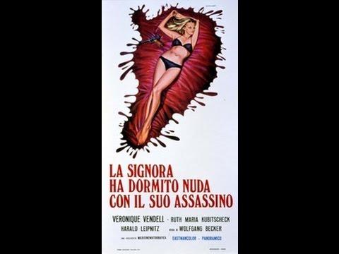 LA SIGNORA HA DORMITO NUDA CON IL SUO ASSASSINO 1971 Film Giallo