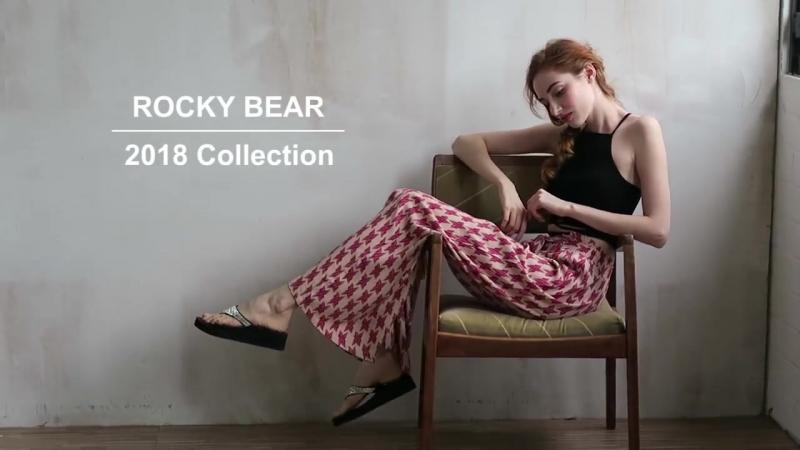 Rocky Bear New collection. 2018 TAipei.
