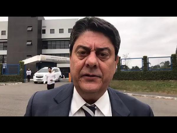 Agora: Wadih Damous, visita Lula e relata análise física do mesmo e conversa sobre decisão da ONU.