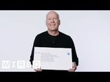 Bruce Willis Answers the Web's Most Searched Questions WIRED