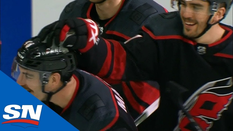 Первый хет-трик Джордана Мартинука в НХЛ в матче с «Флоридой»