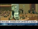 Aux Pays-Bas,le Sénat vote l'interdiction de la Burqa dans les lieux publics (Euronews, 27/06/18)
