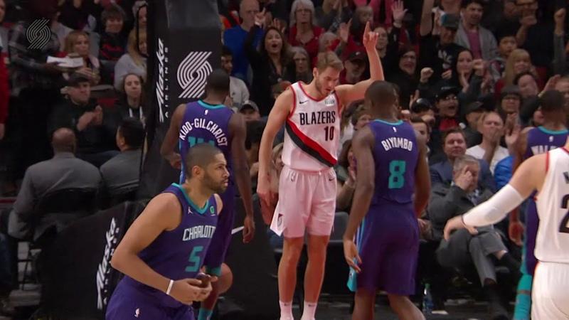 Charlotte Hornets vs Portland Trail Blazers January 11, 2019