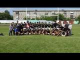 Матч по регби между KRFU (Кюсю) и сборной