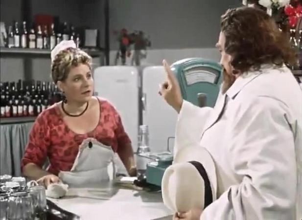 Мне два по сто... и в одну посудину. — «Королева бензоколонки» (1962) coub