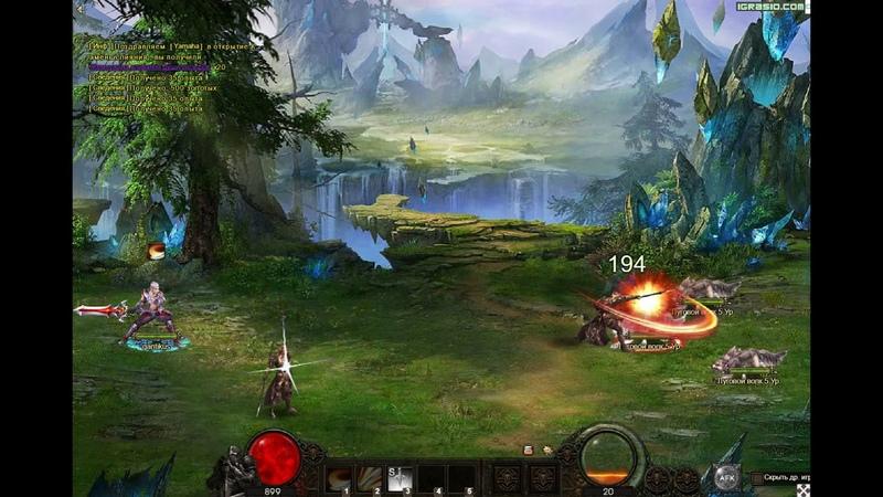 Демон Слеер 3 видео - Demon Slayer 3 геймплей