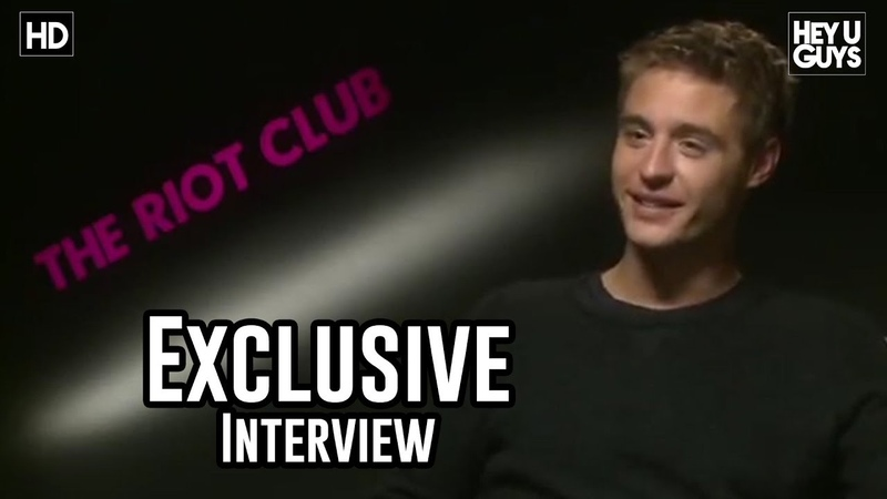 Max Irons - The Riot Club Exclusive Interview