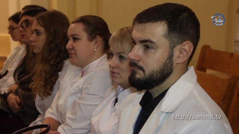 «СаммитТВ»: Молодых полоцких медиков посвятили в профессию