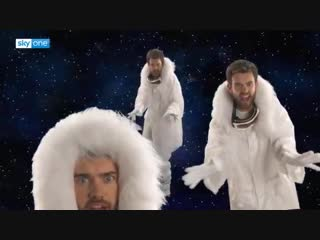 Jack Whitehall, James Corden, Andrew Flintoff and Jamie Redknapp - Stay Another Day
