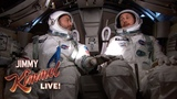 Ryan Gosling & Jimmy Kimmel Go to Space