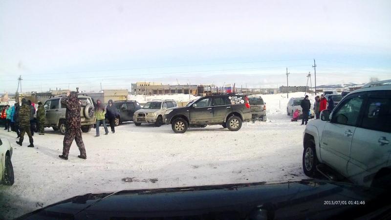 Мой проезд на феерии Мончегорск 17.03.2018
