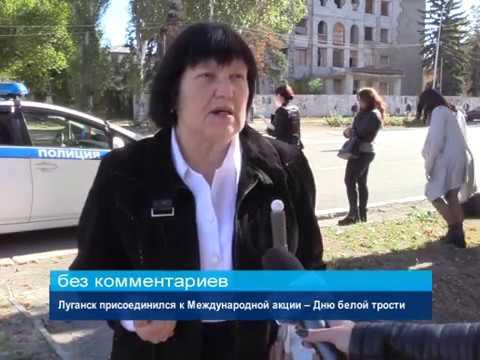ГТРК ЛНР. Луганск присоединился к Международной акции – Дню белой трости
