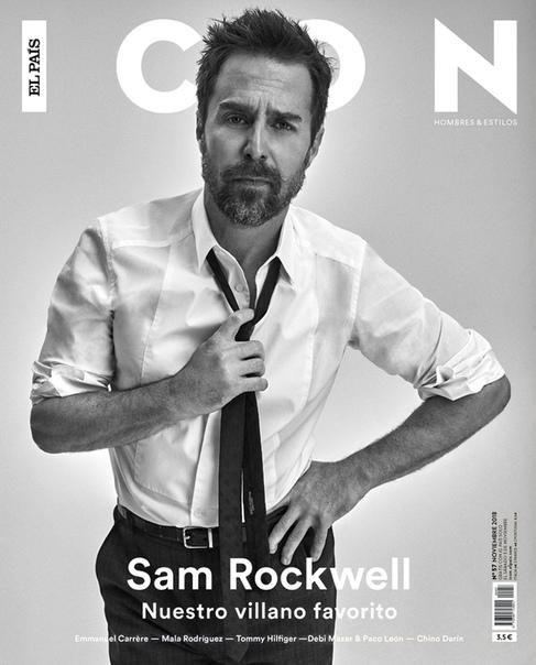 Sam Rockwell Icon, November 2018