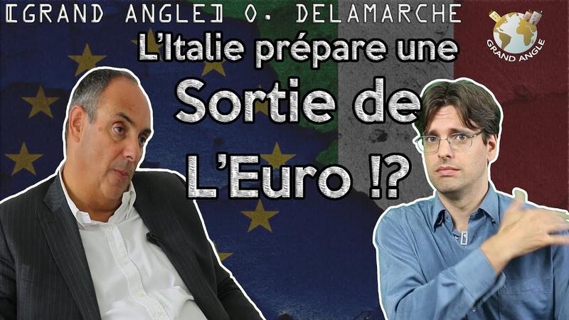 Olivier Delamarche Litalie prépare sa sortie de leuro. LItalexit cest pour bientôt