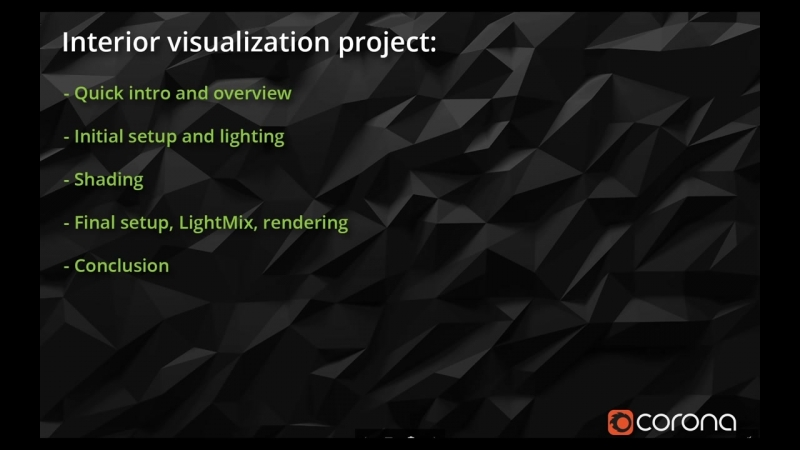 Complete Project - Interior Visualization 1_6_ Overview