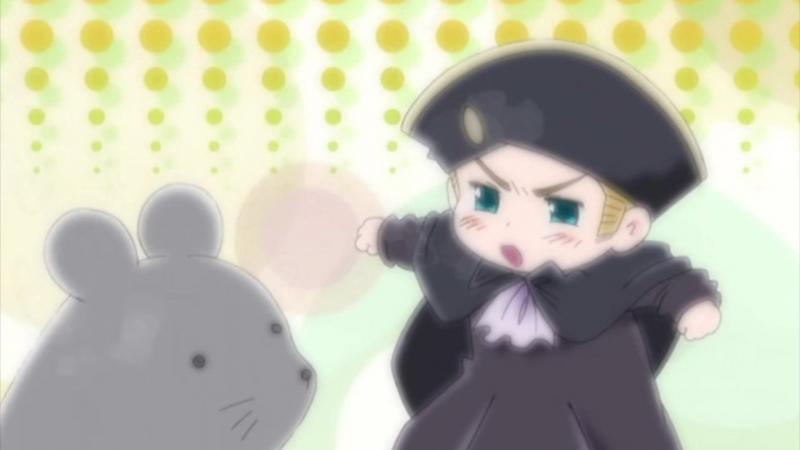 [SS] Хеталия и страны Оси Hetalia Axis Powers 10 серия [Minaka Cruel]