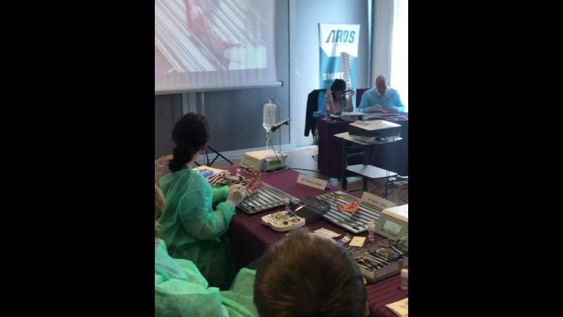 ARDS implants Курс имплантаты