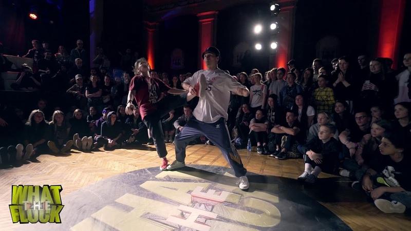 What The Flock vol.5 | Hip-Hop 2x2 1/8 Tadj Ronin vs Sidorov Irisha Yo