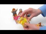 Набор деревянных кукол, Семья ( 6 куколок)
