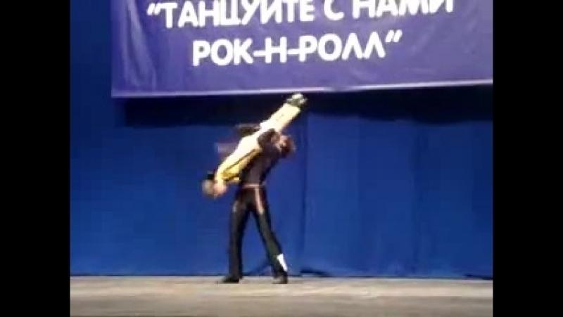 Столяров Вячеслав Морёнова Валерия Юниоры Акробатика