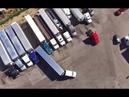 Неудачная парковка и выезд грузовика.