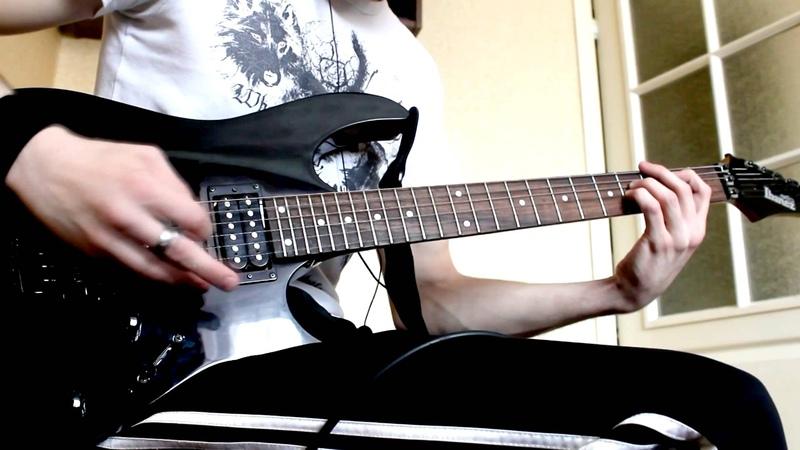 Fen - В маске (Neonate guitar cover)