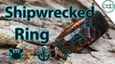 Making a Shipwrecked Copper Ring with a Blue Oxidation Patina
