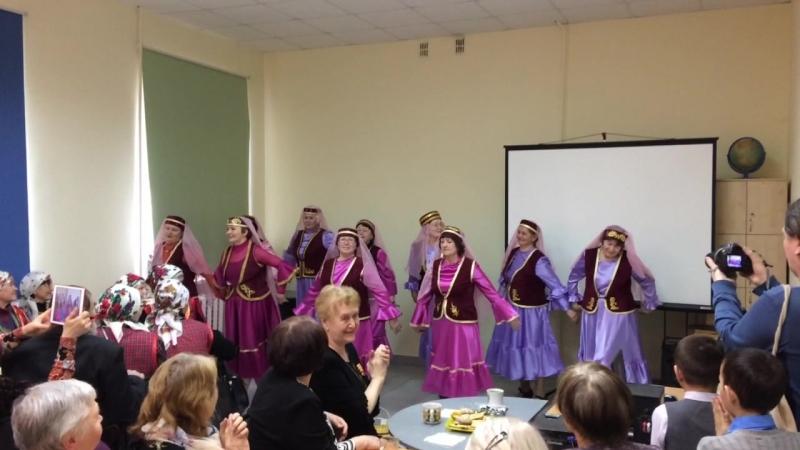 Татарский танец У ручья. 25.04.2018г. биб-ка Маяковского.