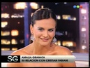 Susana recibe a Amalia Granata embarazada - Susana Gimenez 2007