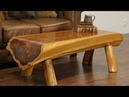 🔴 Amazing wooden furniture. 50 unusual tables, beds, chairs