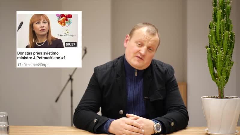 Donatas apie ''karbauskinę'' ministrę J. Petrauskienę ! Taigi, karbauskiniai su jiems nepatinkančiais susidoroja tokiu pat bū