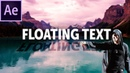 How To Create 3D Floating Text In After Effects Eminem Lucky You