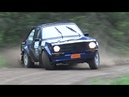 Ford Escort MK2 Rallying Crashes action